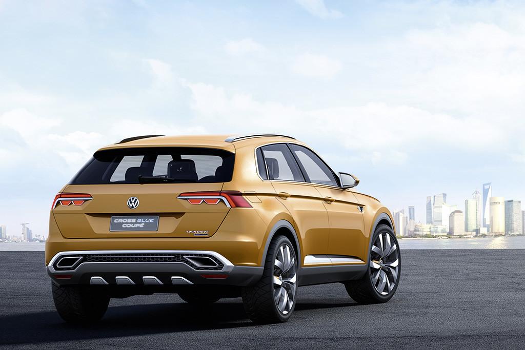 Foto de Volkswagen CrossBlue Coupé Concept (5/34)