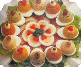 Colorido de huevos