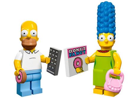Así son las nuevas minifiguras de LEGO de Los Simpson
