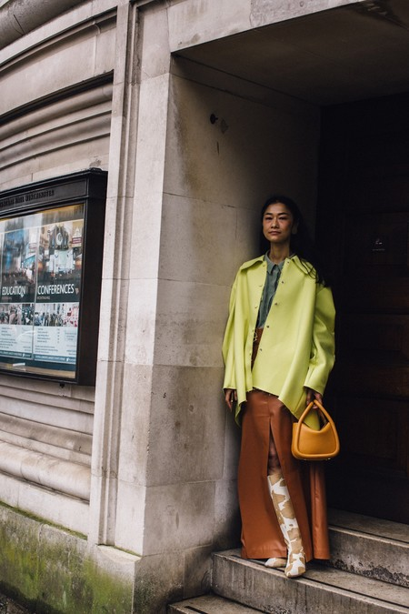 street style londres colores acidos