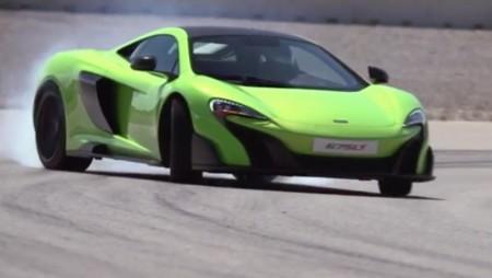 """McLaren 675LT, debut muy """"verde"""" en la pantalla grande"""