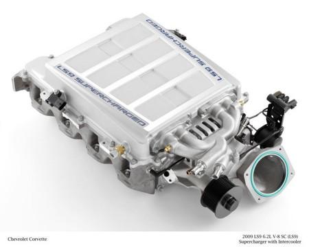 Sobrelimentador mecánico TVS (Roots) Chevrolet Corvette ZR1