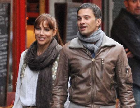 Elsa Pataky y Olivier Martinez juntos en Córcega