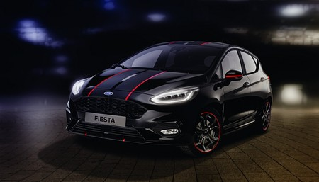 Ford Fiesta St Line Red Black Edition 3