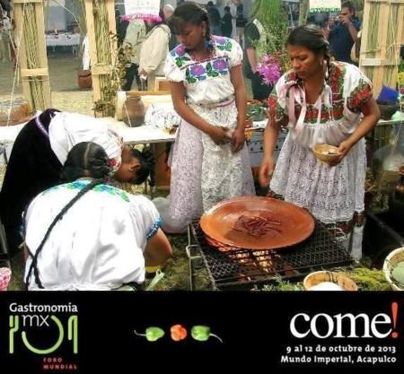 El Foro Mundial de la Gastronomía Mexicana impulsa la cocina tradicional y regional de México