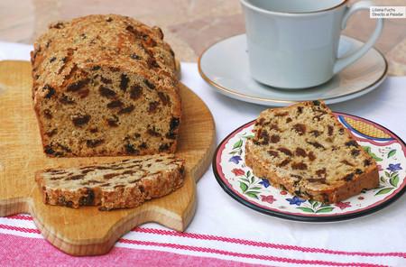 Plum cake de mezcla de pasas al té: receta británica para acompañar nuestra infusión favorita