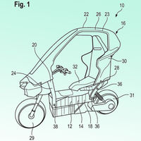 El scooter BMW C1 con techo podría volver a fabricarse pero con motor eléctrico y mucho más ágil, según las últimas patentes