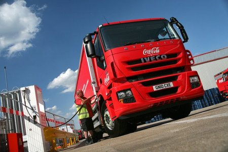 Coca-Cola empieza a probar un camión a biogás