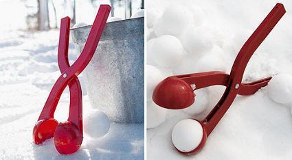 Sno-Baller, las bolas de nieve más perfectas