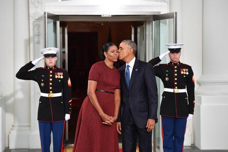 Michelle Obama nos deja mal sabor de boca en su última aparición como Primera Dama, Melania Trump gana el duelo de estilo