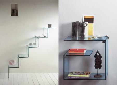 Vitrinas y estanter as de cristal de tonelli - Estanterias de cristal para banos ...