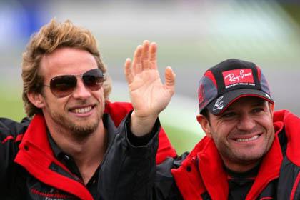 Honda confirma a Button y Barrichello para el 2008