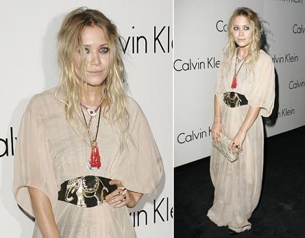 El look de Mary Kate Olsen en la fiesta de Calvin Klein