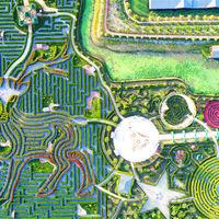 El laberinto más grande del mundo es este colosal jardín en China y requiere recorrer más de 9,4 kilómetros para salir