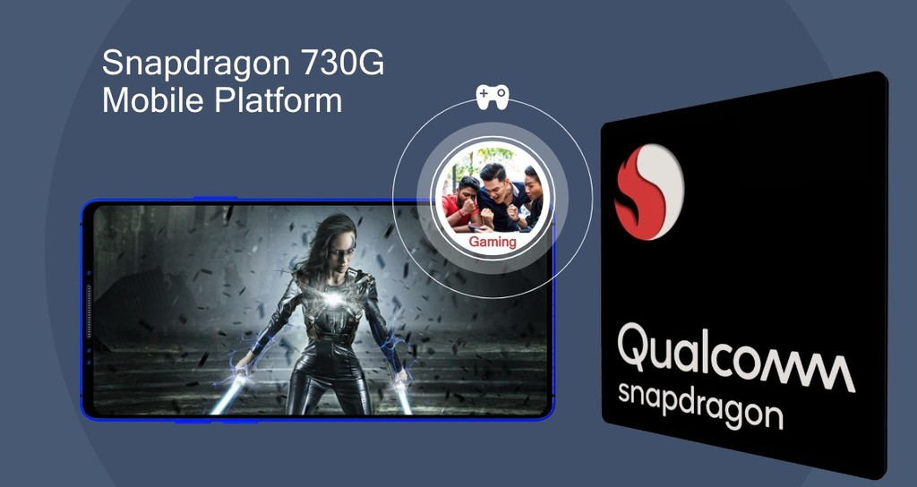 New Snapdragon 730G: the first chip to