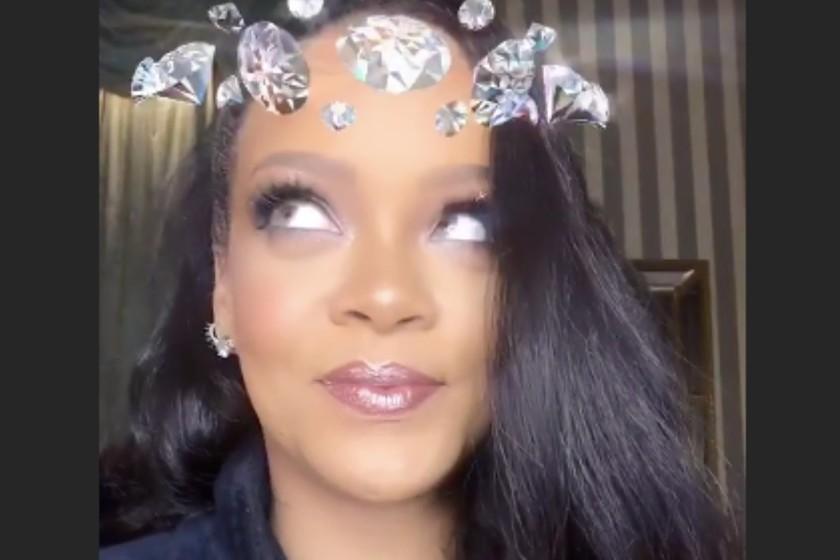 Las Marcas Y Celebrities Se Apuntan Al Diseño De Filtros Para Instagram Rihanna Ariana Grande La Nba O Gucci