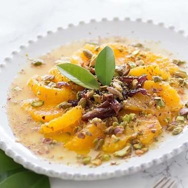 Ensalada dulce de naranjas y dátiles: receta