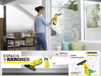 Gana un limpiacristales VW50 con el nuevo espacio Kärcher en Decoesfera