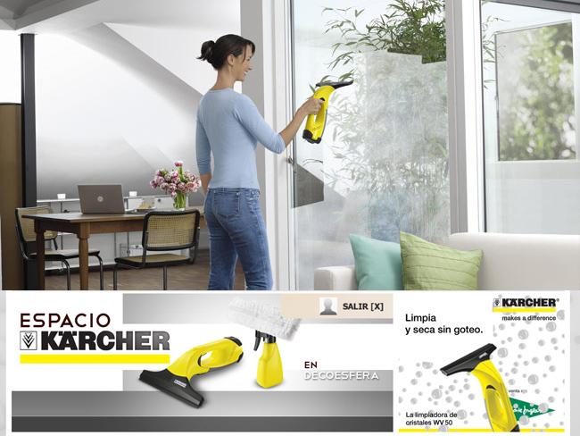 Gana un limpiacristales vw50 con el nuevo espacio k rcher - El mejor limpiacristales ...