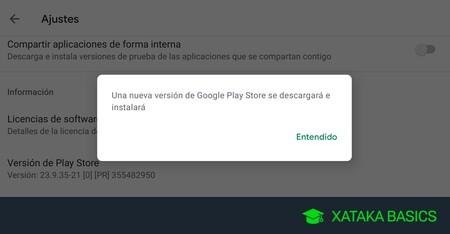 Google Play Store: cómo actualizar la tienda de apps de Android a la última versión