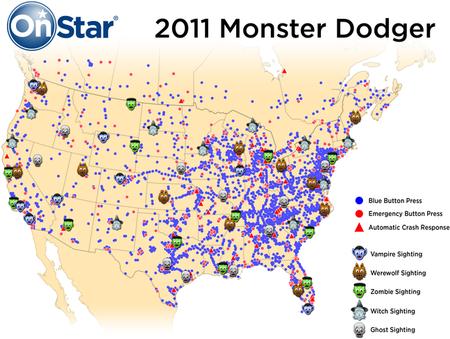 Onstar Monster Dodger