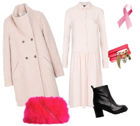 total look benefico rosa