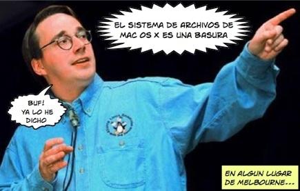 Linus Torvalds arremete contra OS X y Windows
