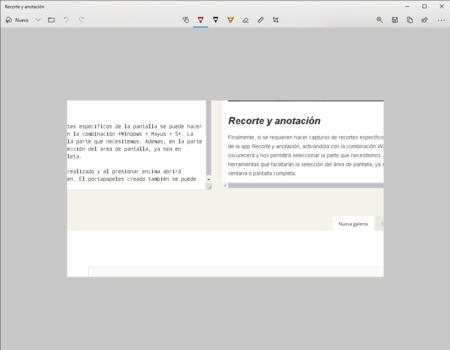 Capturas Pantalla Recorte Anotacion Windows 10