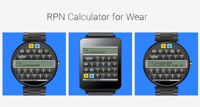 RPN Calculator, una calculadora científica para Android Wear