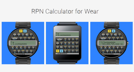 RPN Calculator, una calculadora científica para Android Wear