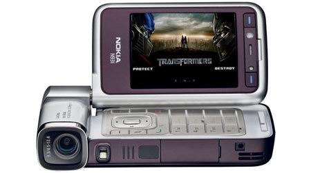 Nokia N93i edición Transformers