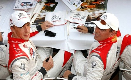 Se rifan los Citroën DS3 WRC para Kris Meeke y Robert Kubica