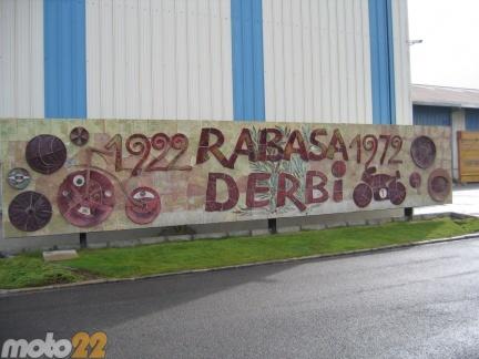 Visitando la fábrica Derbi