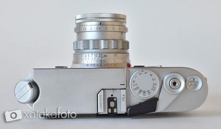 Leica m6 ttl vista superior
