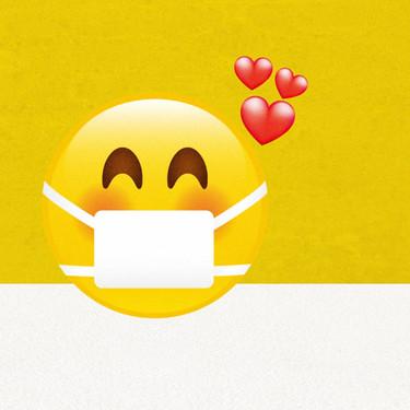 Este nuevo emoji sonriente con mascarilla normaliza su uso y puede que lo veamos próximamente en nuestros teclados