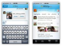 Windows Live Messenger para el iPhone al descubierto
