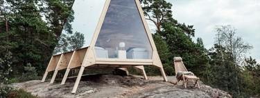Confortable y responsable con el medio ambiente, la cabaña Nolla es perfecta para vacaciones