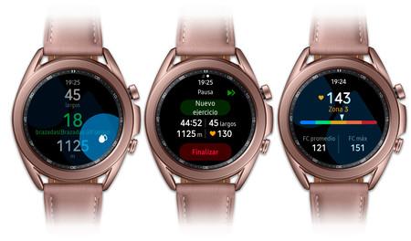 Samsung Galaxy Watch 3 Ejercicio