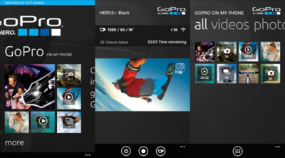 GoPro para Windows Phone ahora es compatible con la cámara Hero4