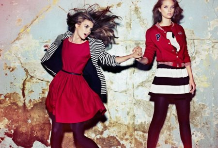 Colegial Catálogo Pull and Bear Invierno 2011