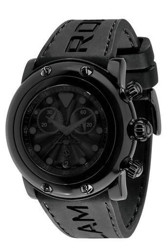Glam Rock CSC, un reloj de negro riguroso