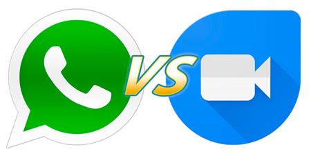 WhatsApp contra Google Duo, ¿quién tiene las mejores videollamadas?