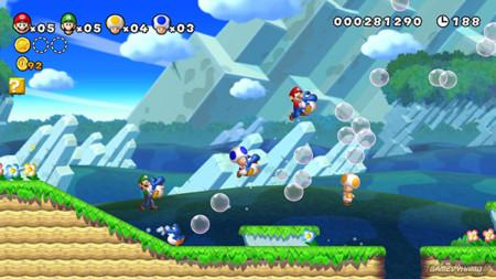 Mario Bros Wii U