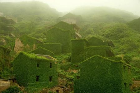 La isla Shengshan alberga a este inquietante y bello pueblo fantasma
