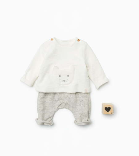 Conjunto Recien Nacido Zara Mini