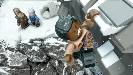 Lego Star Wars El Despertar De La Fuerza Finn Nieve