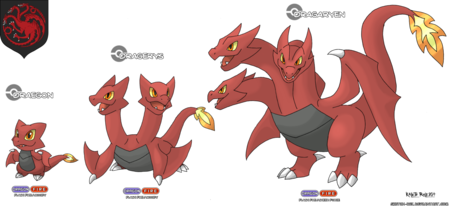 Las familias de 'Juego de Tronos' convertidas en Pokémon y sus evoluciones, la imagen de la semana