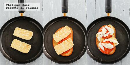 Sandwich Tofu Chorizo Mozzarella