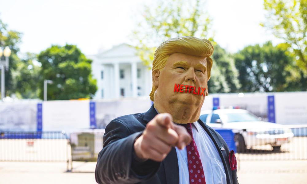 Netflix lanza un botón para saltar los chistes sobre Trump en el nuevo especial de Seth Meyers