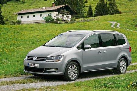 Pequeñas novedades para los Volkswagen Scirocco, Sharan y Touareg